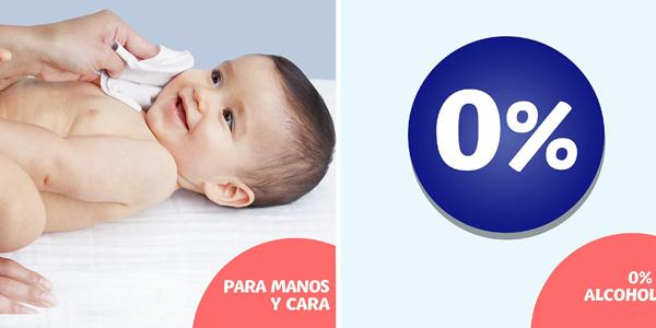 Pack x720 Toallitas higienizantes Dodot Manos Limpias & Go chollo en Amazon