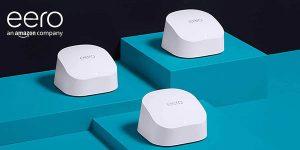 Pack 3 unidades Amazon eero 6 de WiFi en malla