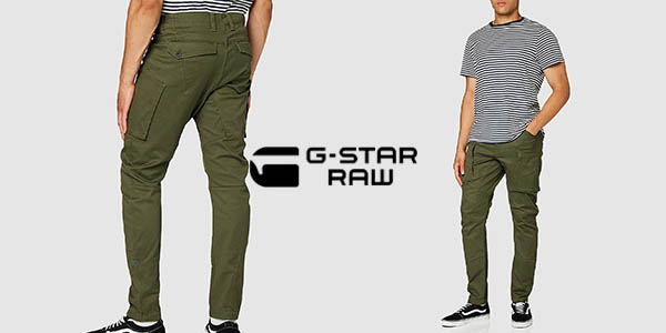 Pantalones G-Star Raw Zip Pocket 3D