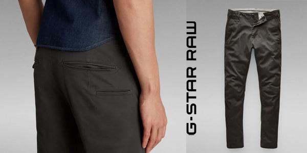 Pantalones chinos G-Star Raw Vetar Slim para hombre baratos en Amazon