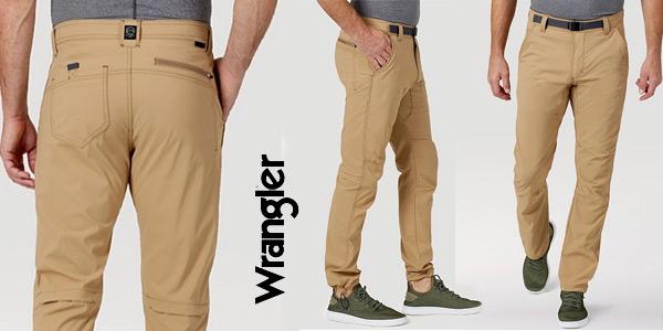 Pantalones de senderismo Wrangler All Terrain Gear baratos en Amazon