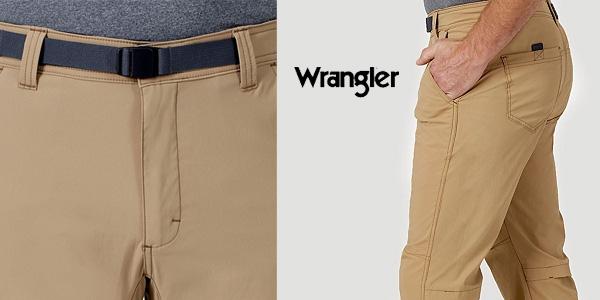 Pantalones de senderismo Wrangler All Terrain Gear chollo en Amazon