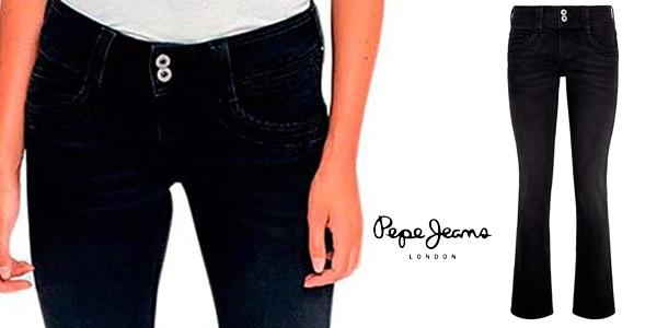 Pantalones vaqueros Pepe Jeans Gen para mujer oferta en Amazon