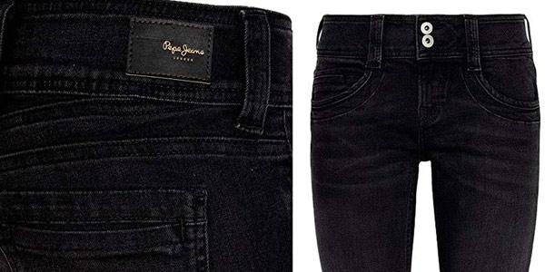 Pantalones vaqueros Pepe Jeans Gen para mujer chollo en Amazon