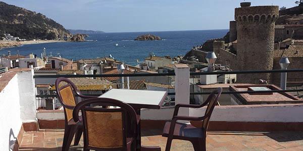 Pensión Codolar Tossa Mar alojamiento barato Costa Brava