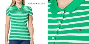Polo Tommy Hilfiger Short Sleeve Slim Stripe barato en Amazon