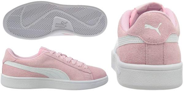 Zapatillas Puma Smash V2 Suede Jr para niños baratas