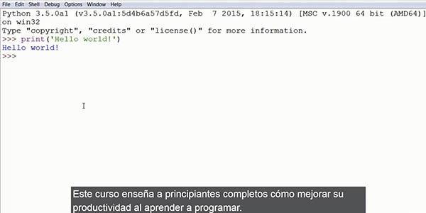 Python Automate The Boring Stuff curso programación gratuito Udemy