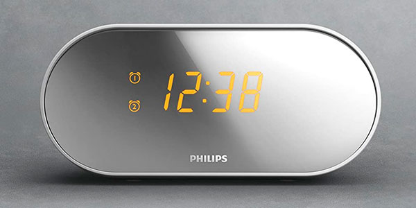 Radiodespertador Philips AJ2000 con radio FM barato