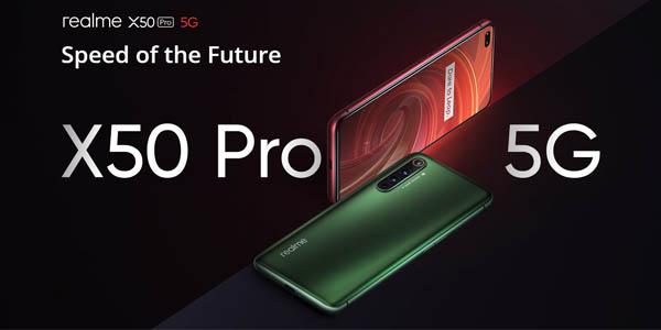 "realme X50 Pro 5G de 6,64"""