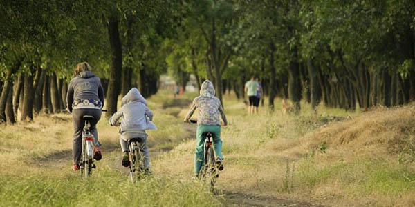 rutas bicicleta familias España