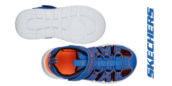 Sandalias Skechers C-Flex Sandal 2.0 Heat Blast para niños chollo en Amazon