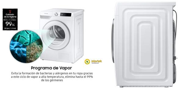 Secadora de condensación Samsung DV90T6240HE/S3 con bomba de calor chollo en El Corte Inglés