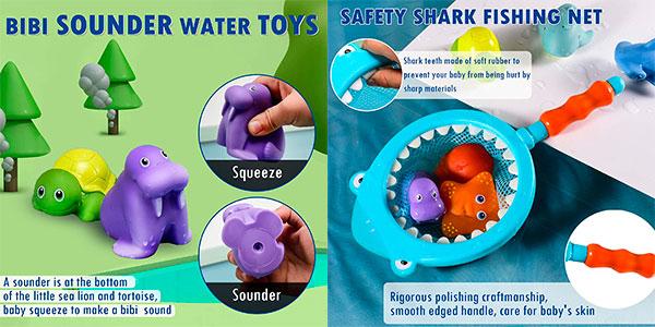 Set Lehoo Castle de juguetes de bañera para bebé barato