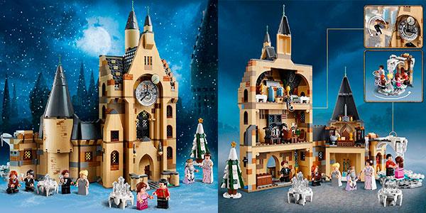 Set Torre del Reloj de Hogwarts de LEGO Harry Potter con 8 minifiguras barato