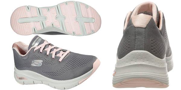 Zapatillas Skechers Arch Fit para mujer baratas