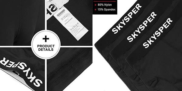 Skysper pantalones cortos compresión cupón descuento