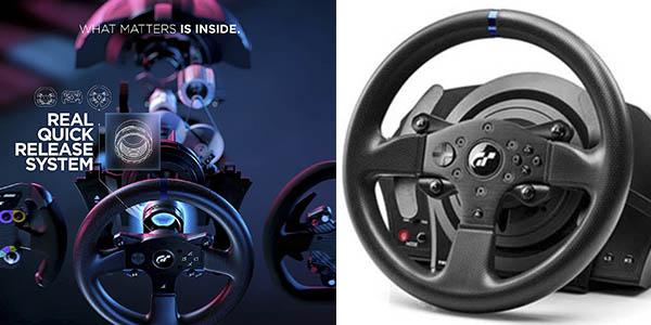 Thrustmaster T300RS GT volante pedales ordenador PS4 PS5 oferta