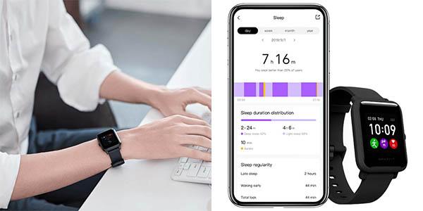 Reloj deportivo Xiaomi Amazfit Bip S Lite en Amazon