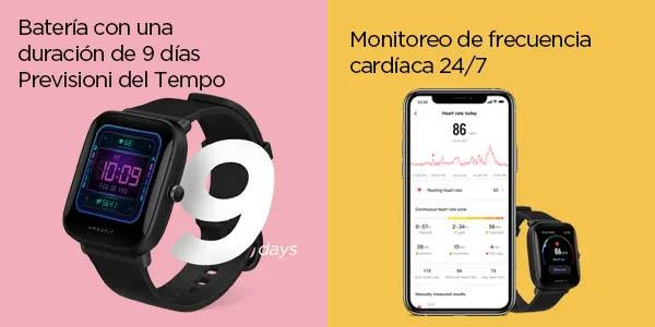 Reloj Xiaomi Amazfit Bip U Pro barato