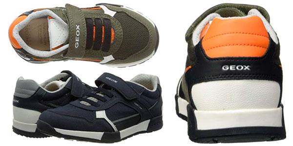 Zapatillas Geox Alfier para niños baratas