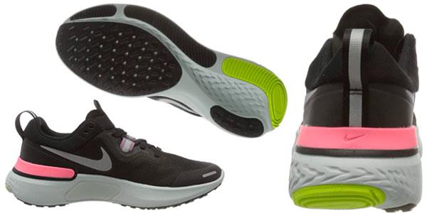Zapatillas de running Nike React Miler para mujer en oferta