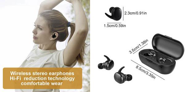 Zuta TWS auriculares inalámbricos caja carga chollo