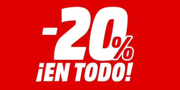 20% de descuento Media Markt