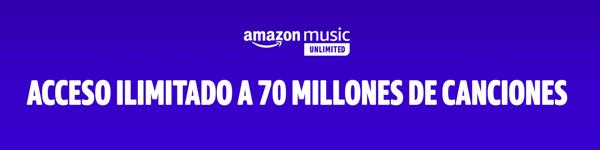 Catálogo Amazon Music Unlimited