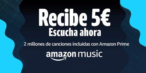 Cupón regalo Amazon Music
