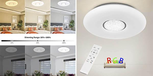 Anten lámpara techo LED barata