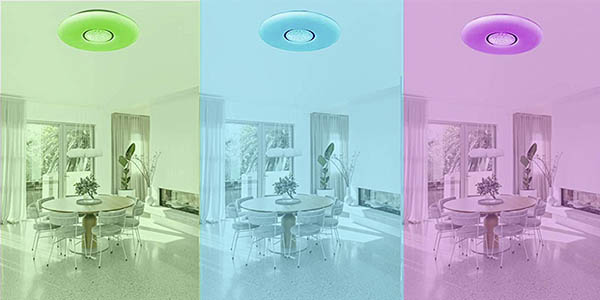 Anten lámpara techo LED regulable chollo