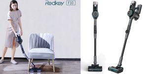 Aspirador escoba plegable Redkey F10 de 23 KPa barato en AliExpress