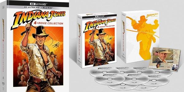 Pack Indiana Jones 4K Ultra HD