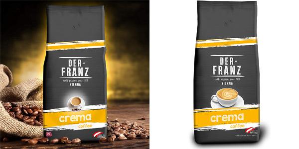 Envase Café en grano Café Crema Der-Franz de 1 kg barato en Amazon