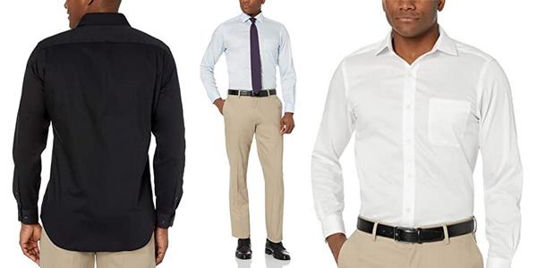 Camisas Amazon Buttoned Down sin plancha baratas en Amazon
