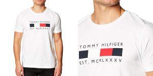 Camiseta Tommy Hilfiger Logo Box barata en Amazon