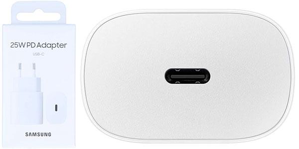 Cargador de red rápido Samsung de 25 W con USB-C barato