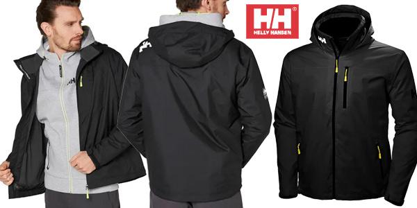 Chaqueta impermeable Helly Hansen Crew Hooded Midlayer para hombre barata en Amazon