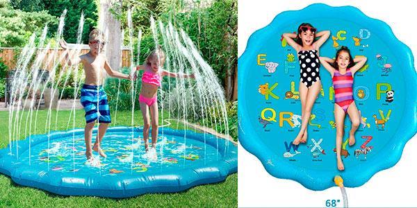 Chollo Colchoneta Fostoy Splash con chorros de agua