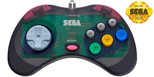Chollo Gamepad USB Retro-Bit Sega Saturn
