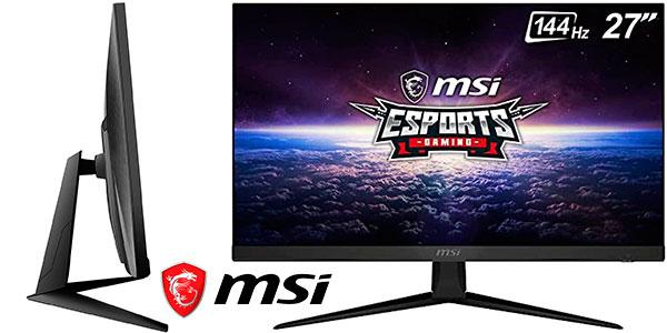"Chollo Monitor gaming MSI Optix G271 Full HD de 27"""