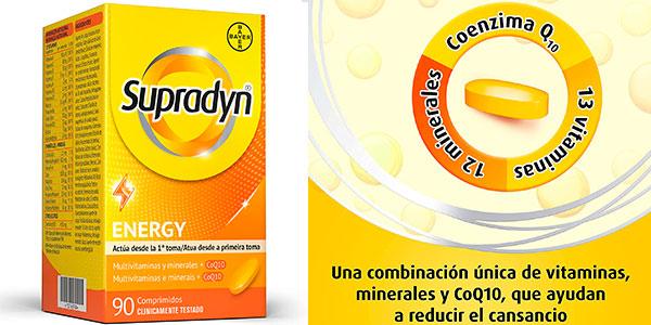 Chollo Multivitaminas Supradyn Energy de 90 comprimidos con coenzima Q10