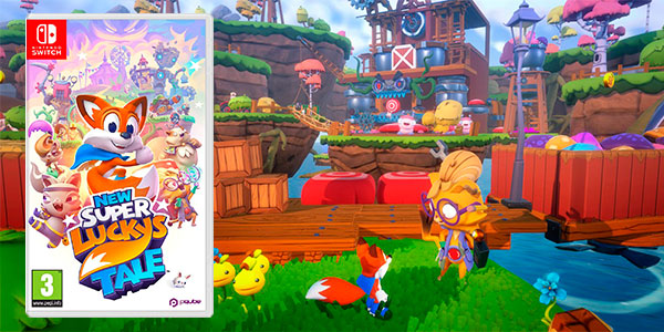 Chollo New Super Lucky's Tale para Switch