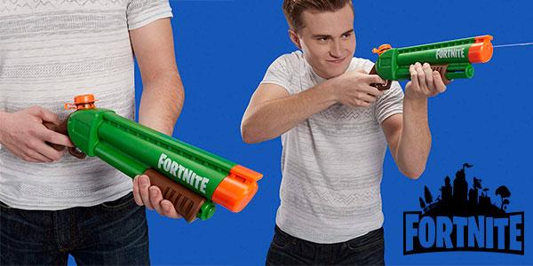Chollo Pistola de agua Nerf Fortnite Supersoaker