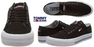 Chollo Zapatillas Tommy Jeans Long Lace de algodón reciclado para hombre