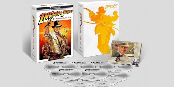 colección aventuras Indiana Jones 4K pack barato