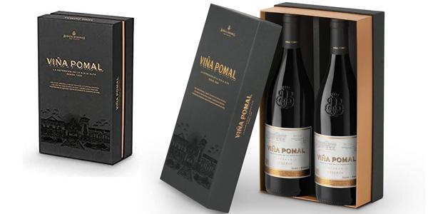 Estuche x2 Vino tinto Viña Pomal Reserva Terruño Centenario D.O.Ca. Rioja de 750 ml barato en Amazon