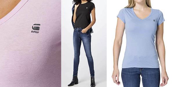 G-Star Raw Eyben camiseta mujer barata