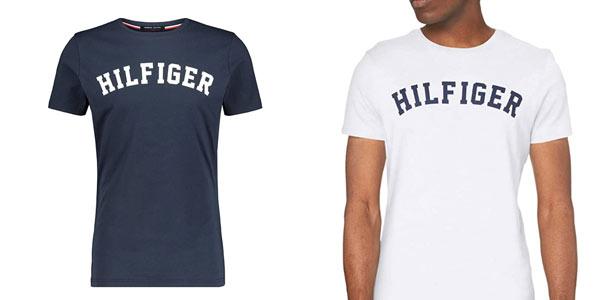 Camiseta Tommy HIlfiger logo barata